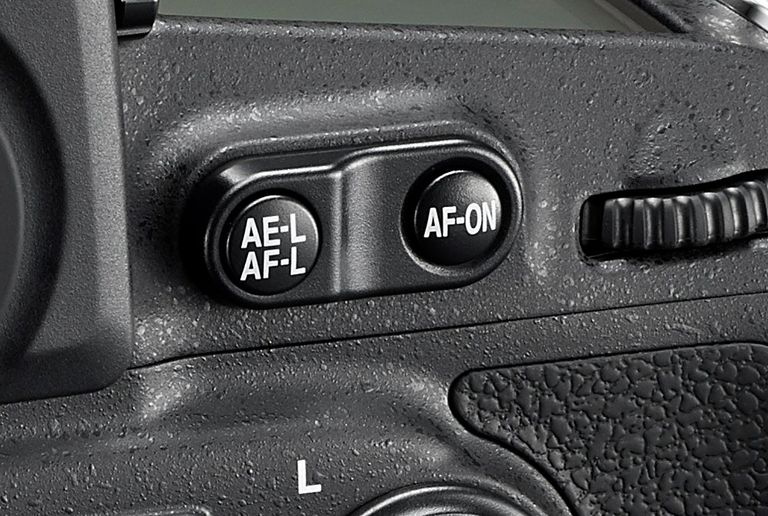 AE Lock, AF, AE buttons on camera