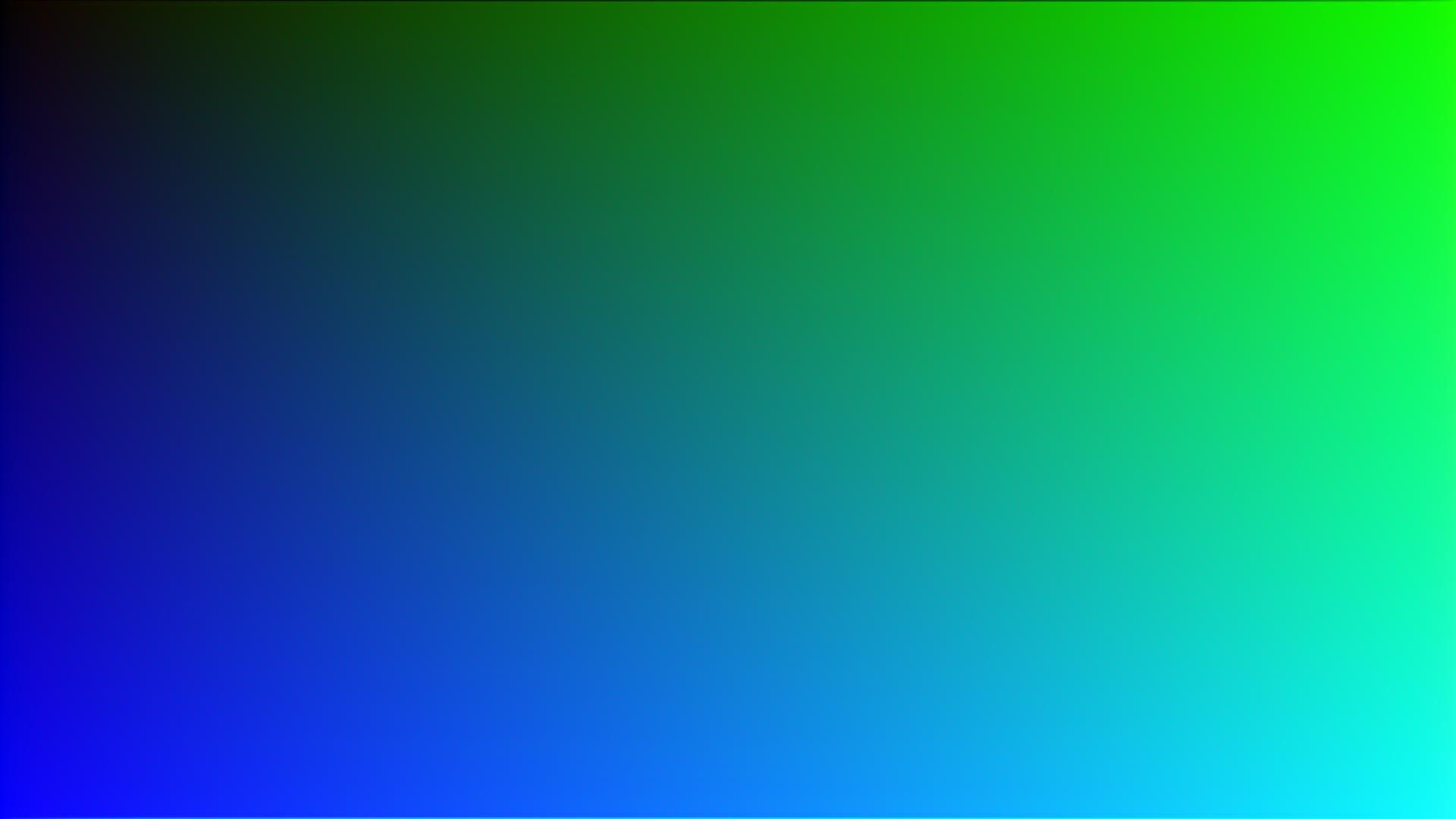 Blue-and-green gradient screenshot