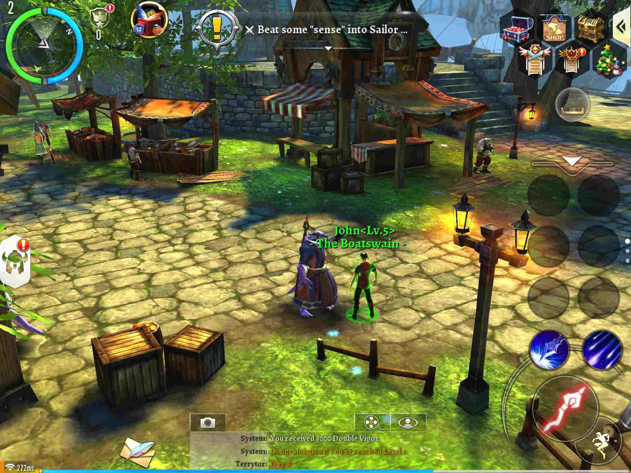 Order & Chaos 2: Redemption on the iPad