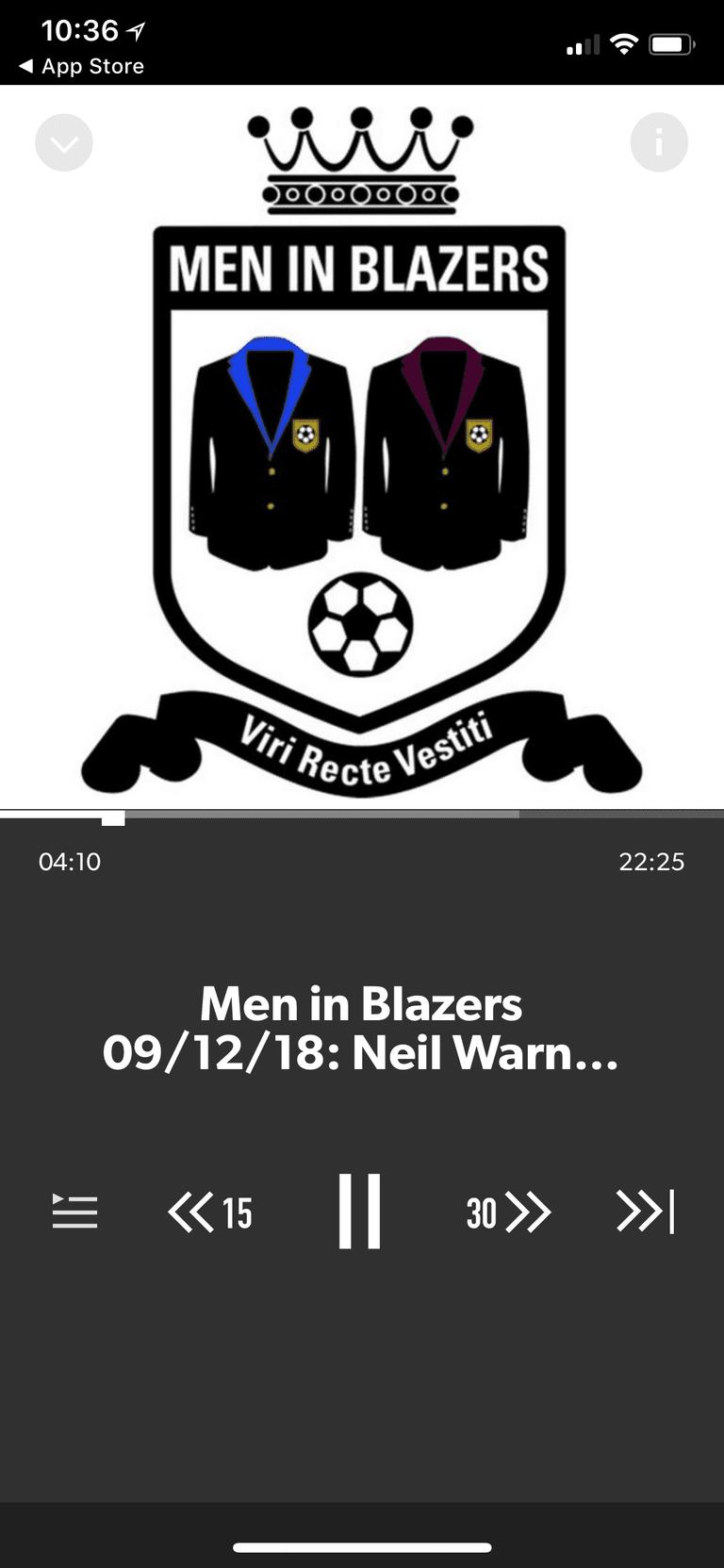 Men in Blazers podcast