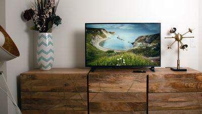 Smart TV in living room
