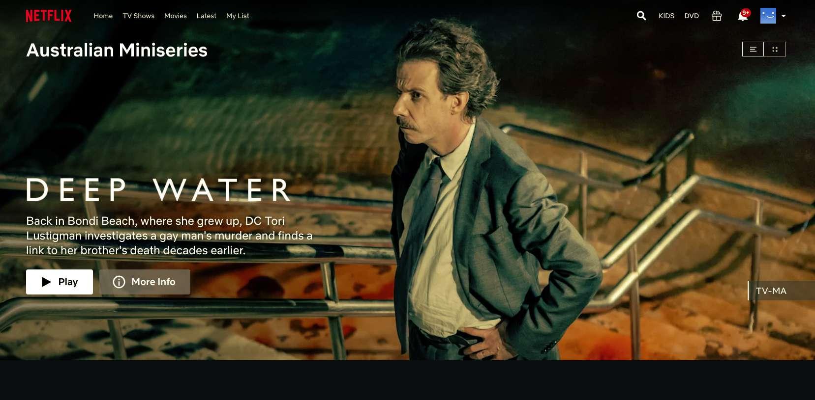 Australian Miniseries Deep Water found with Netflix secret codes