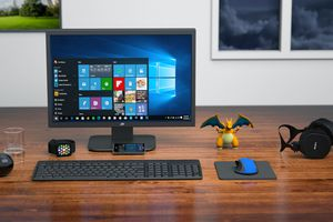 Windows desktop computer