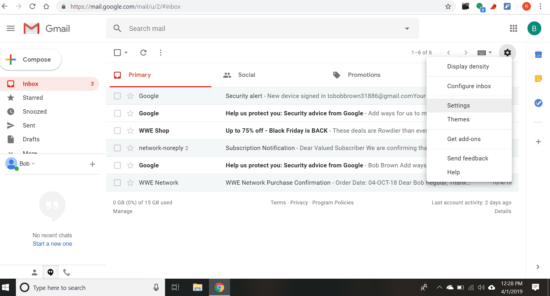 How to Download Gmail Chat Logs via IMAP