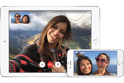 Facetime on iPad and iPhone