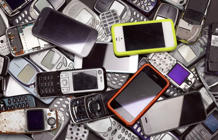 Recycling mobile and smart phones
