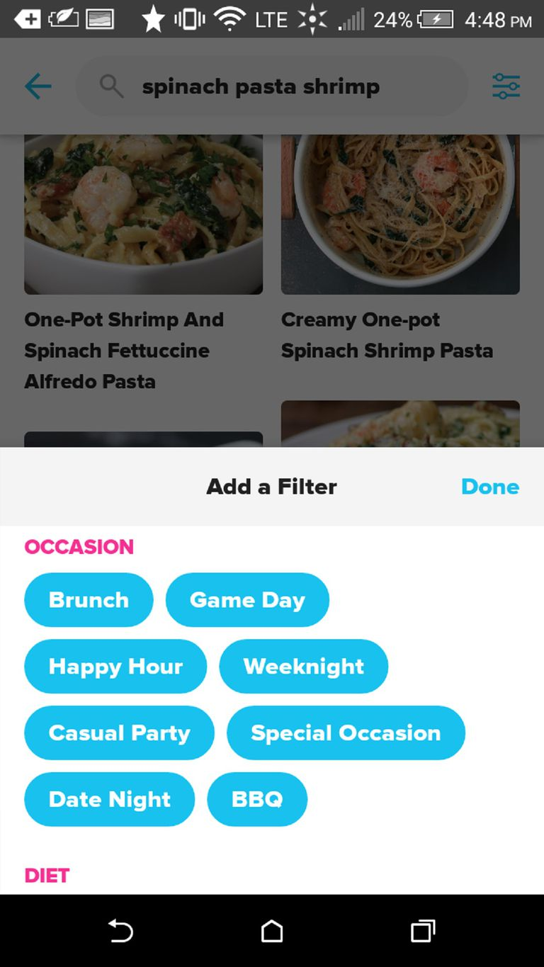 The 7 best apps for recipes based on ingredients a screenshot of the tasty app on an android phone the screenshot shows that you forumfinder Choice Image