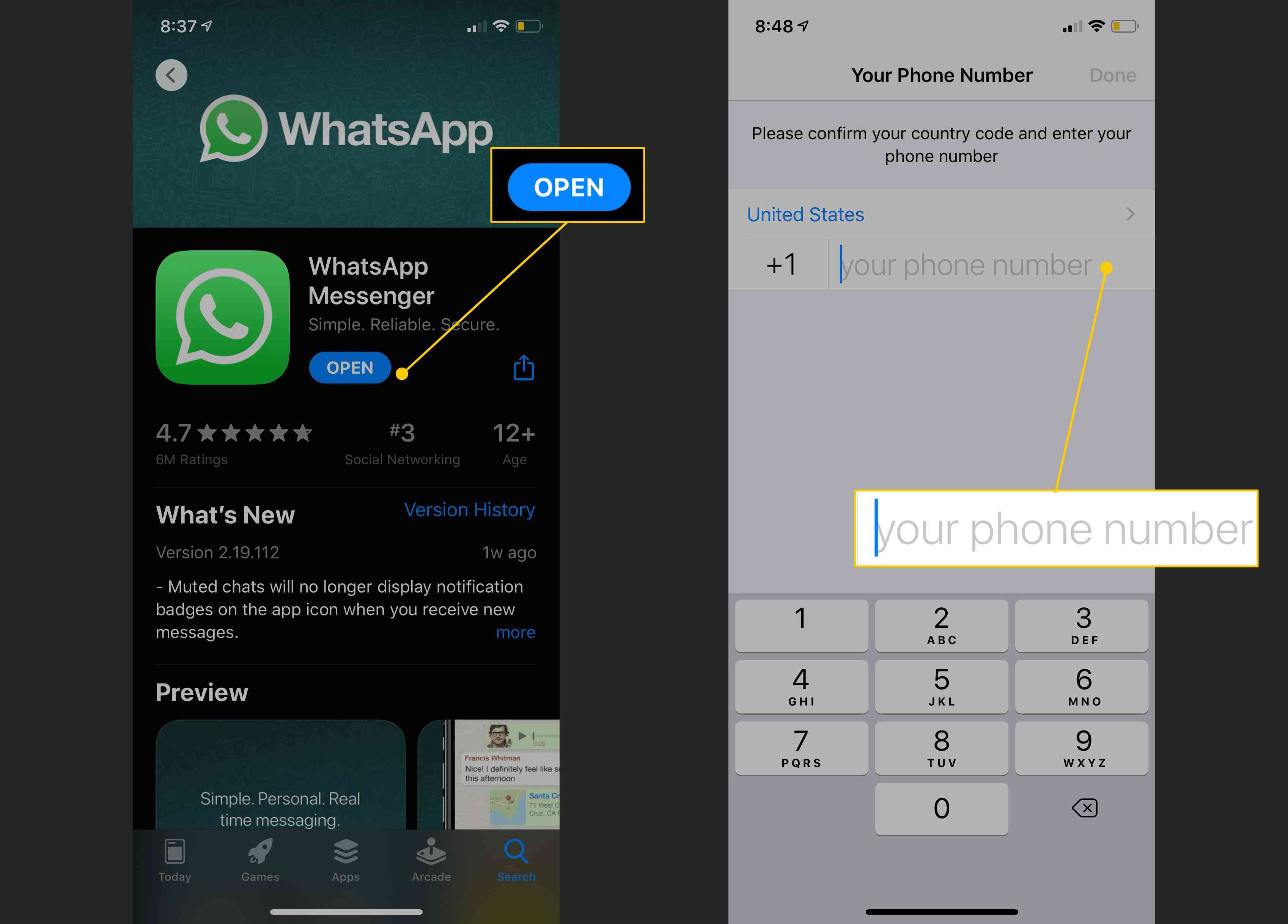 How To Set Up And Use Whatsapp On Iphone