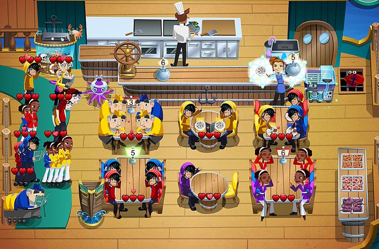 Diner Dash Spiele