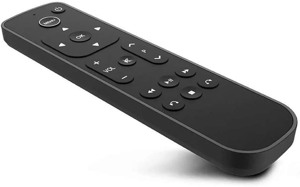 The Salt alternative remote for Apple TV.
