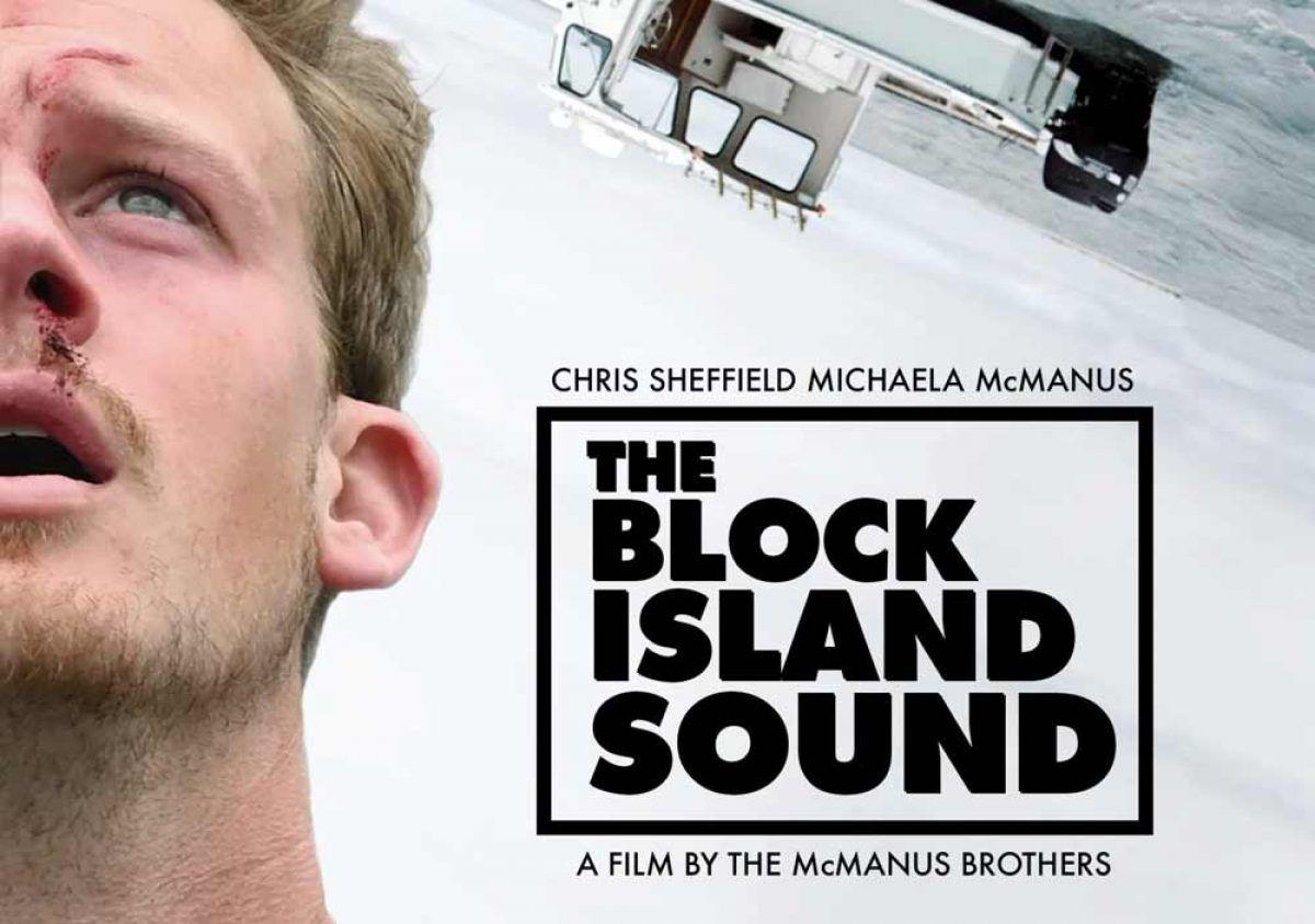 Chris Sheffield in the Block Island Sound