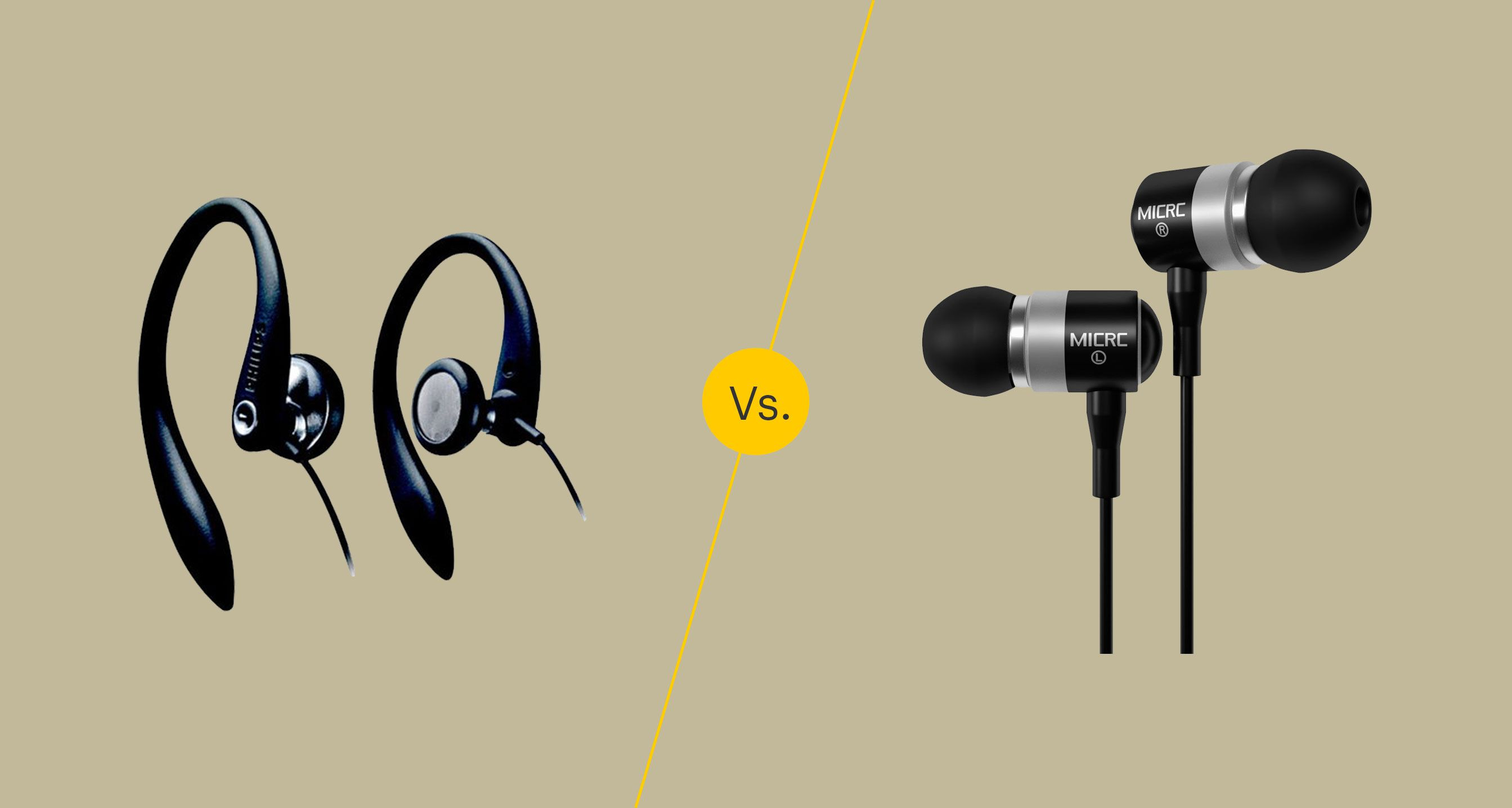 Earphones Vs Earbuds