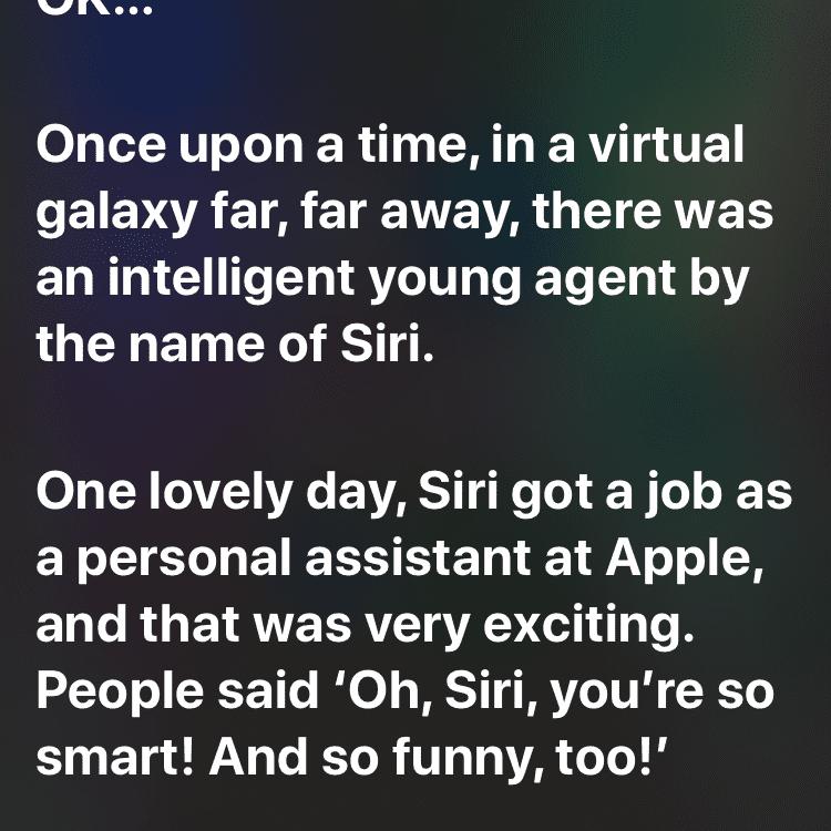 Siri, tell me a mystery story