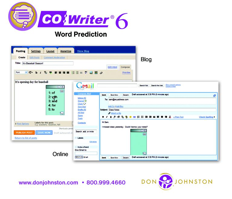 Co:Writer Word Prediction box art