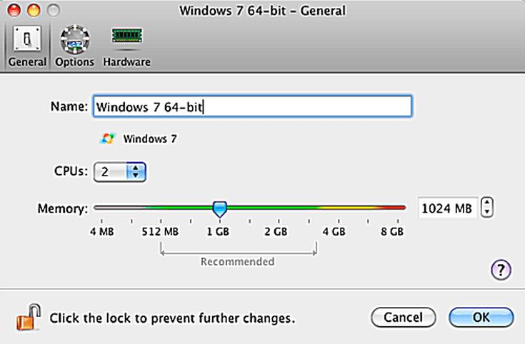 vmware fusion windows 7 processor cores