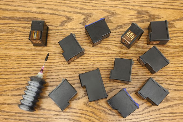 Refilling Inkjet Cartridges at Costco