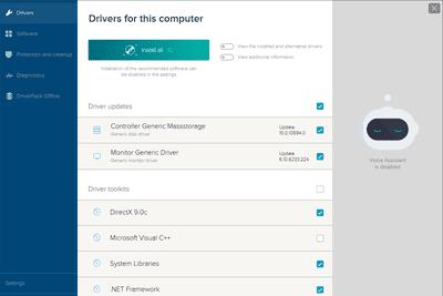 DriverPack Solution expert mode
