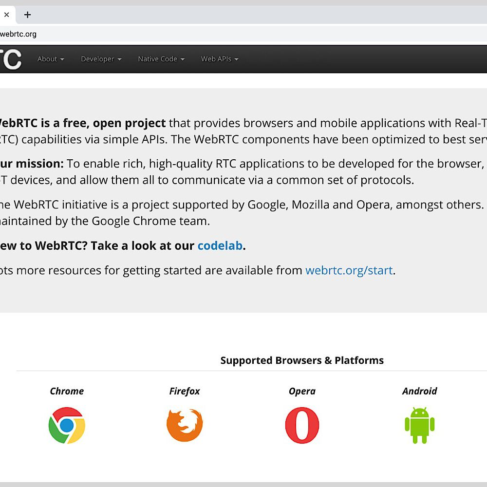 Webrtc on Flipboard | Internet, Repo, Widgets