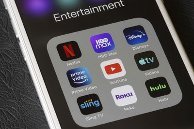 iPhone showing the Roku app