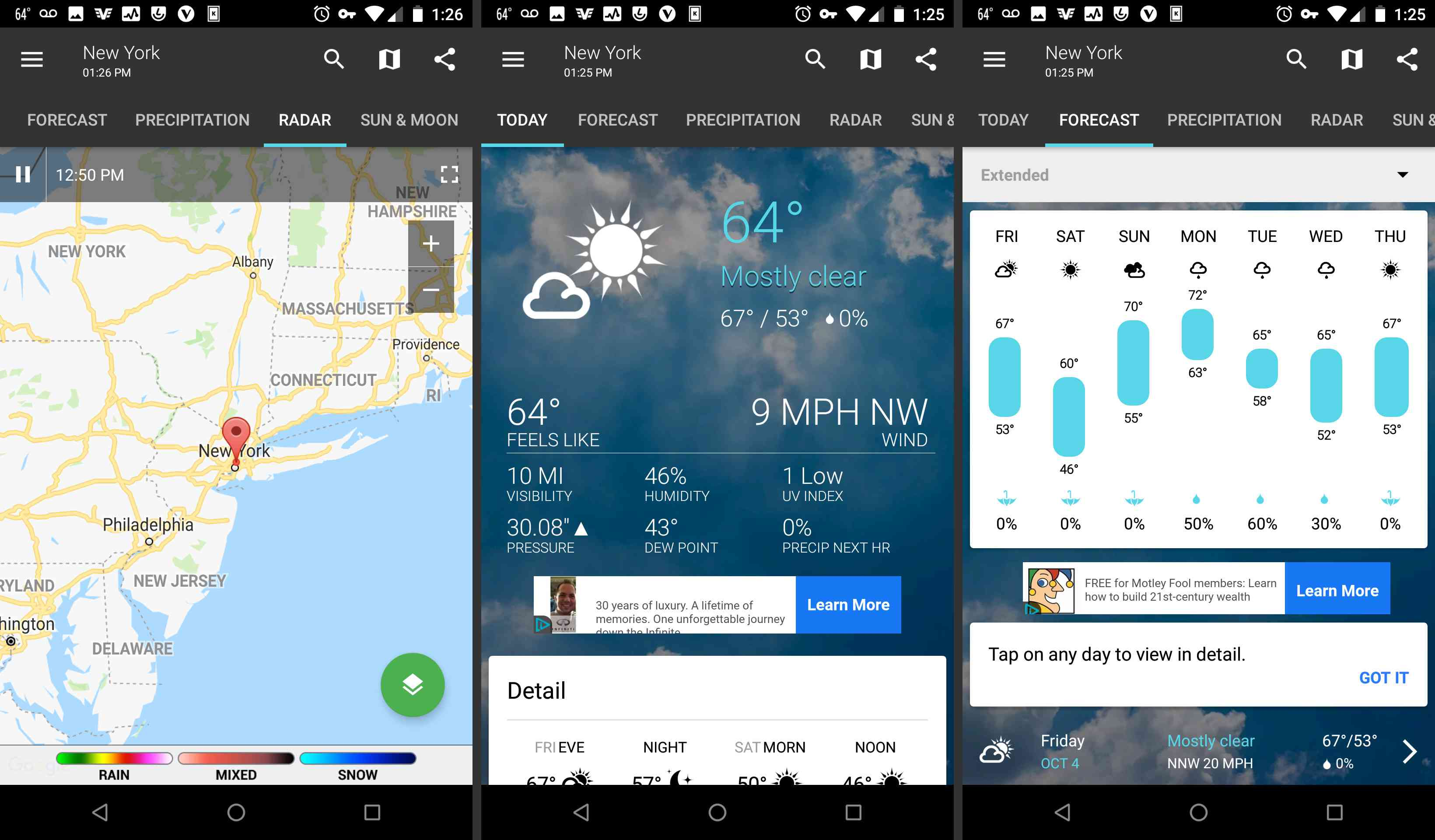 Android 1Weather