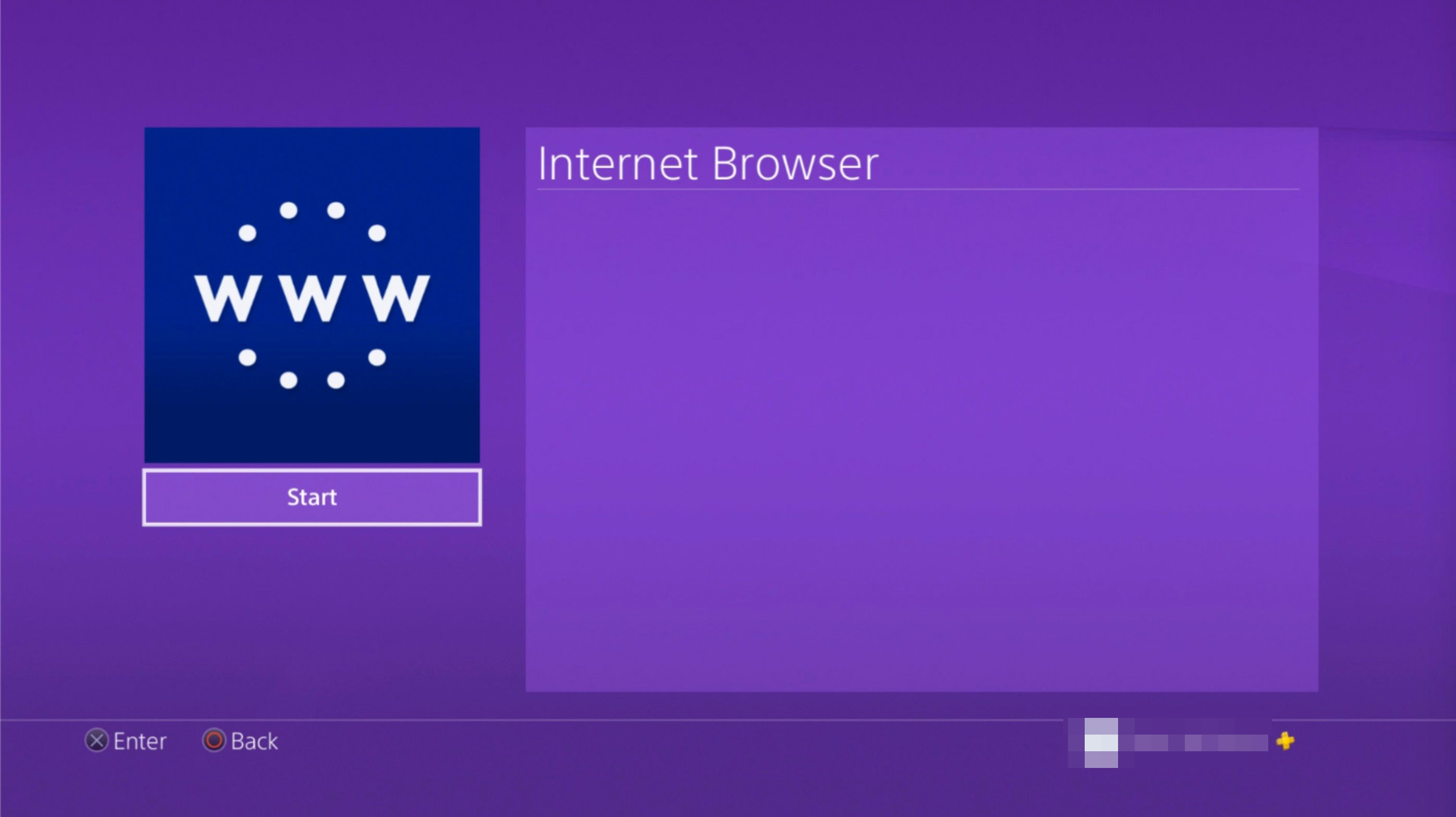 ps4 internet browser