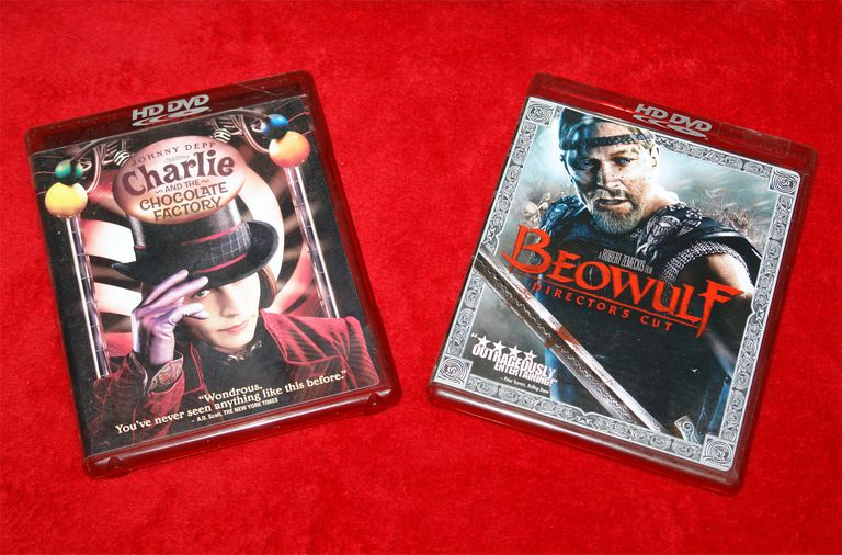 Examples of Movies on the HD-DVD Disc Format