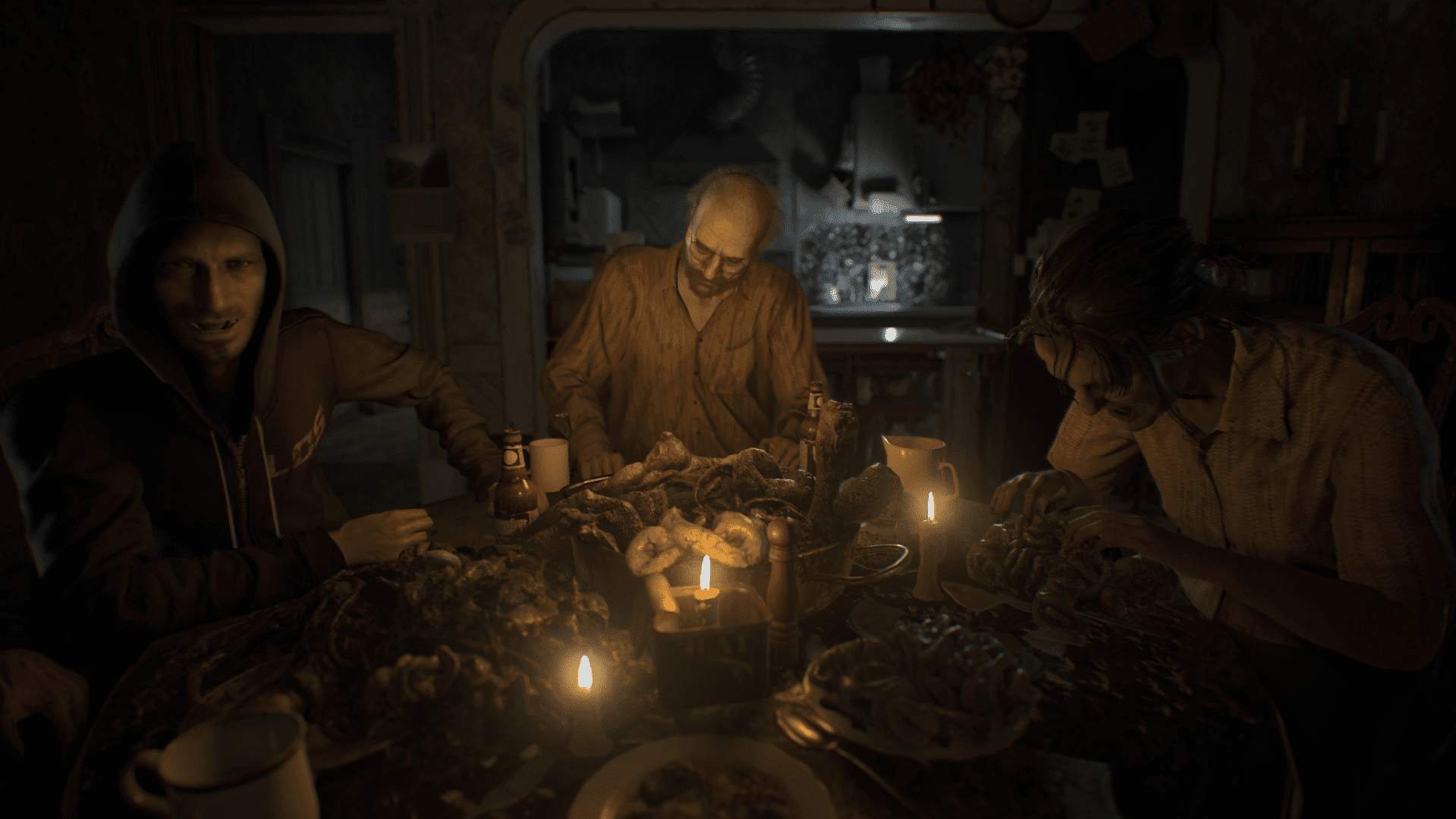 Screenshot of Resident Evil 7: Biohazard (VR game)