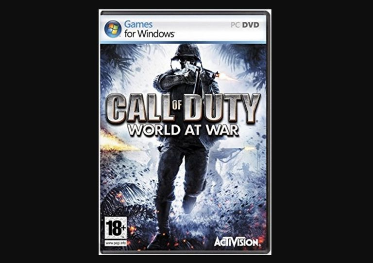 Game cover of Call of Duty World at War