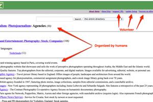 DMOZ - Open Directory Project screenshot