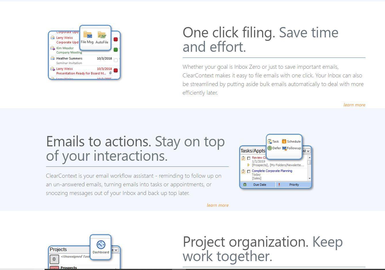 ClearContext website