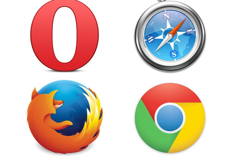 Icons of some common browsers