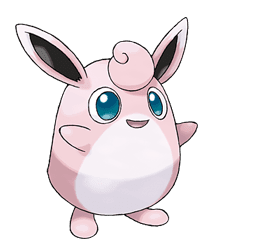 Wigglytuff - Ken Sugimori's Official Artwork