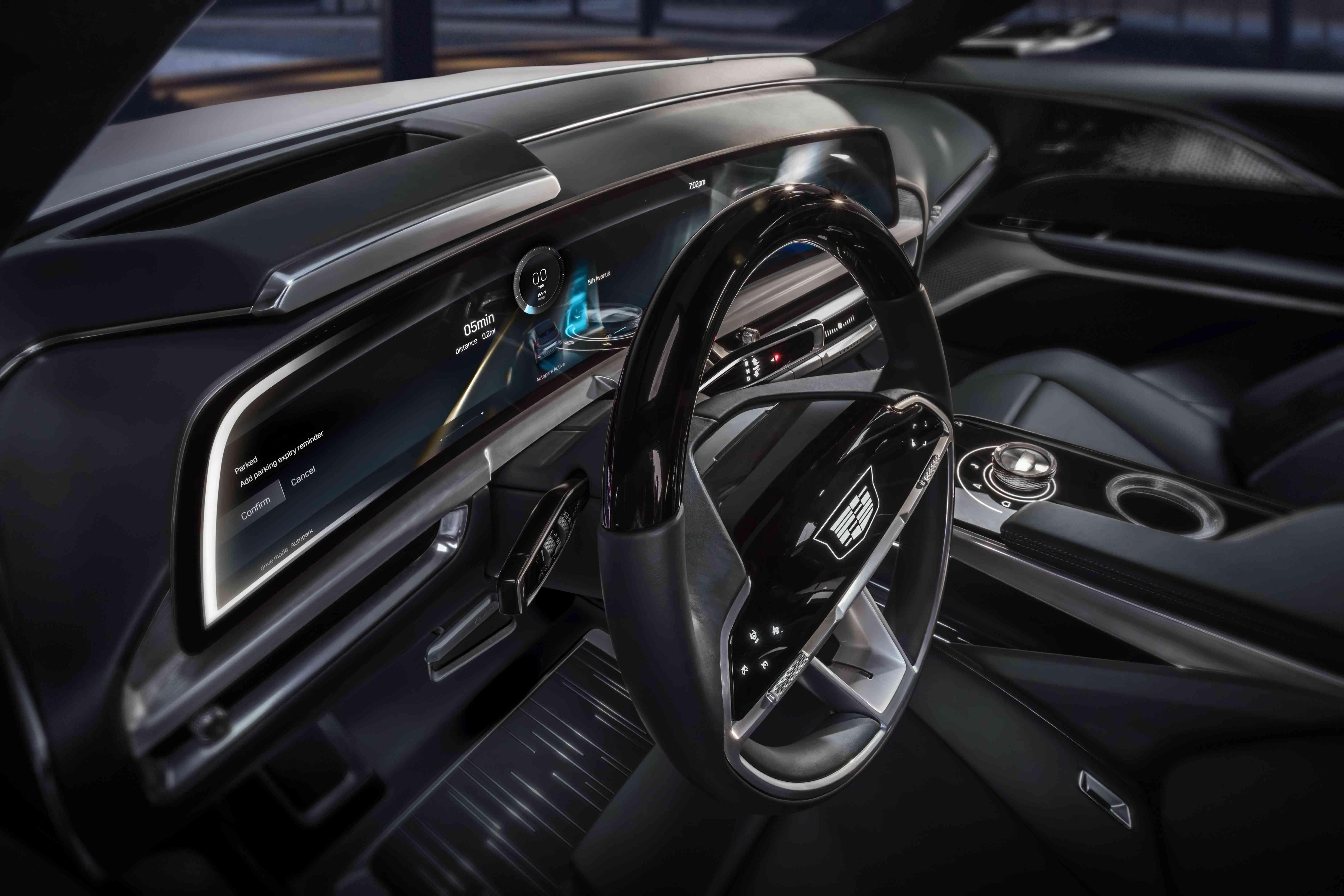 Cadillac Touchscreen Display