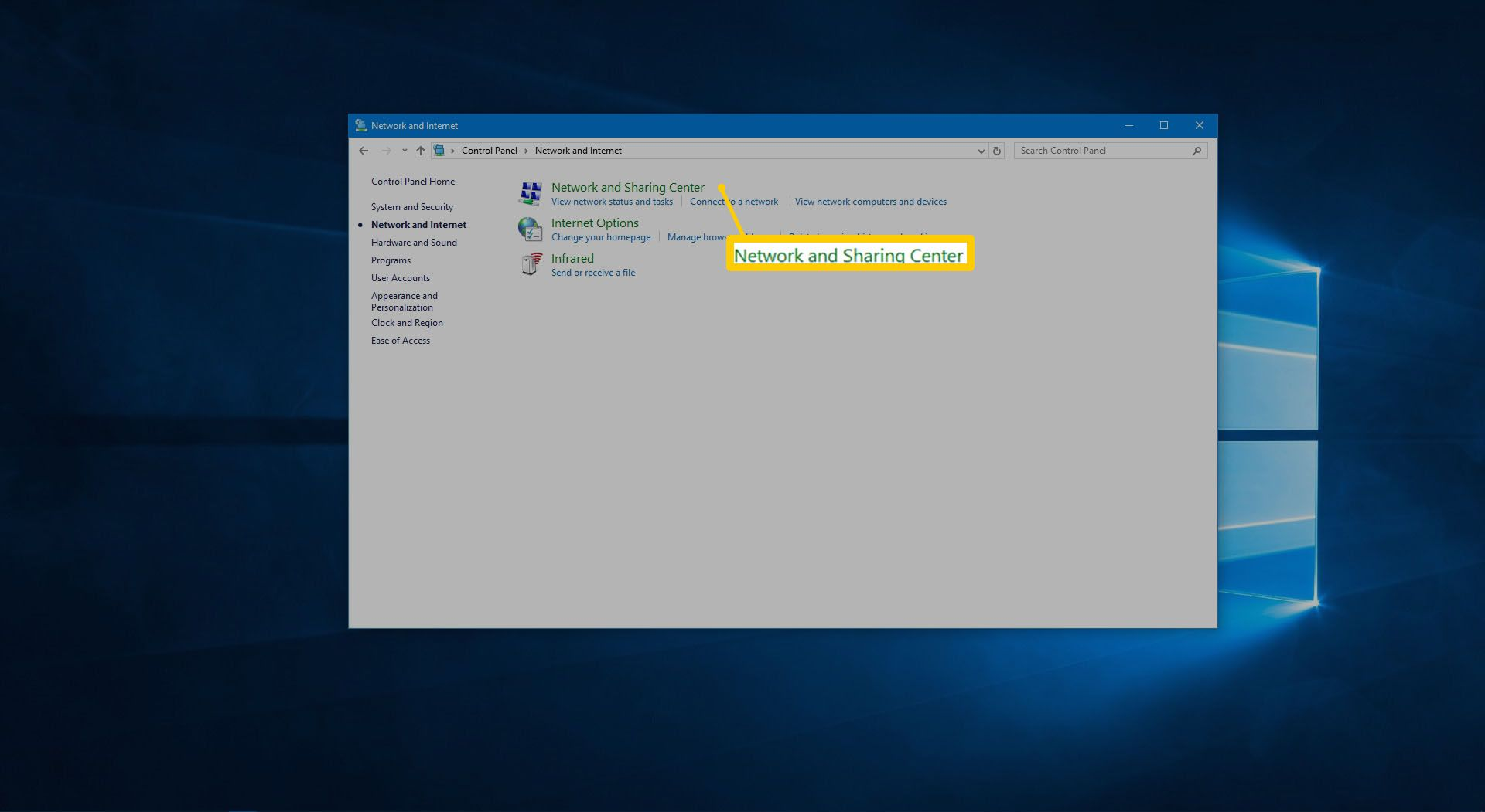 Enable or Disable File and Printer Sharing in Windows
