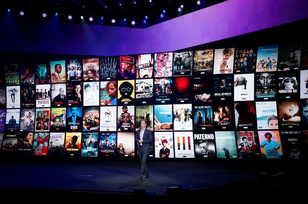 Casey Bloys, President of Programming of HBO, speaks onstage at HBO Max WarnerMedia Investor Day Presentation at Warner Bros. Studios on October 29, 2019 in Burbank, California.