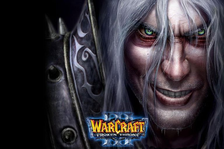 Warcraft III: The Frozen Throne box art