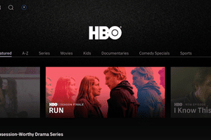 The HBO hub on HBO Max