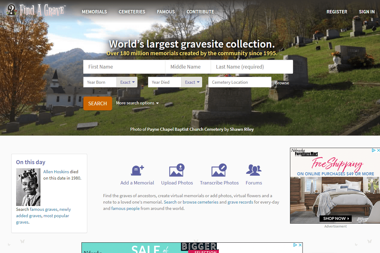 Find Gravesite Records Using Free Online Resources