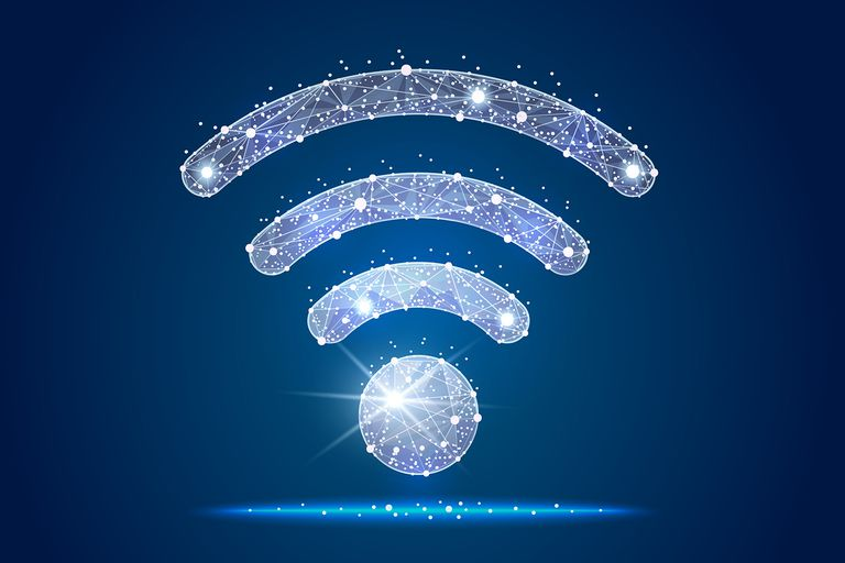 Wi-Fi Icon abstract design