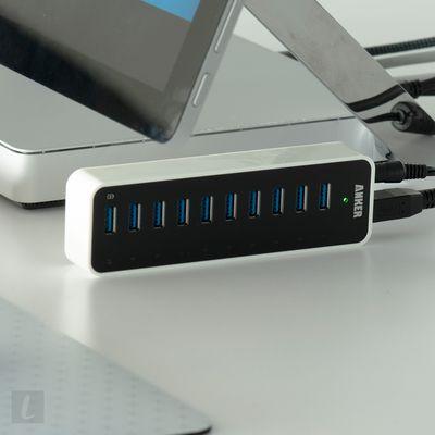 Anker USB 3.0 SuperSpeed 10-Port Hub