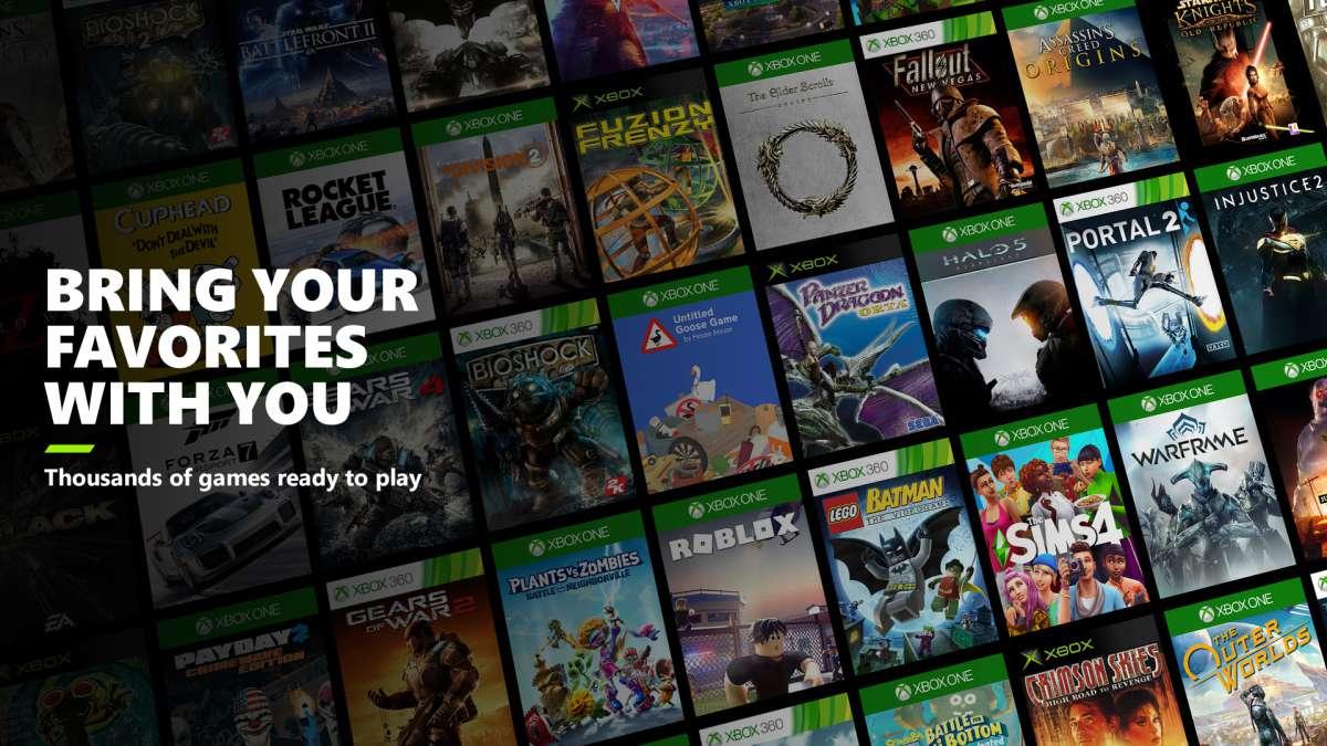 Xbox Series X backwards compatibility header image