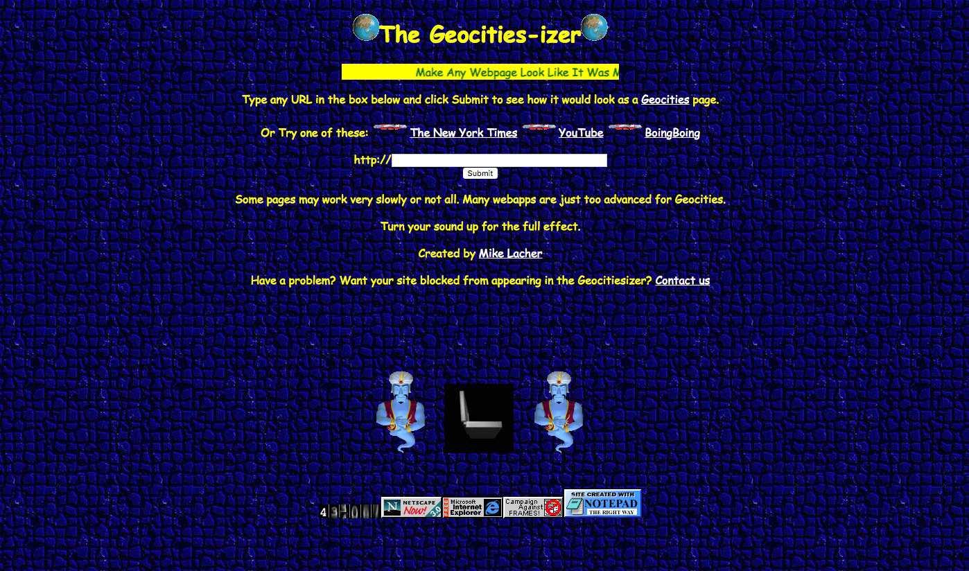 A screenshot of Wonder-Tonic.com.