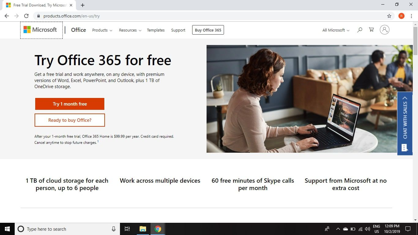 Microsoft 365 Free Trial >> How To Get Microsoft Office For Free