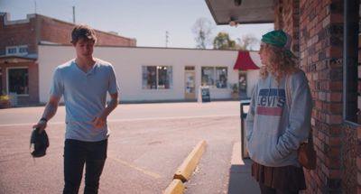 Kathryn Newton and Josh Hamilton in 'The Map of Tiny Perfect Things'