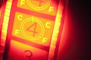 Film reel in spotlight number 4