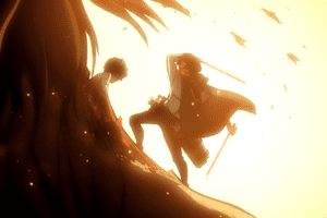 attack on titan high flying action
