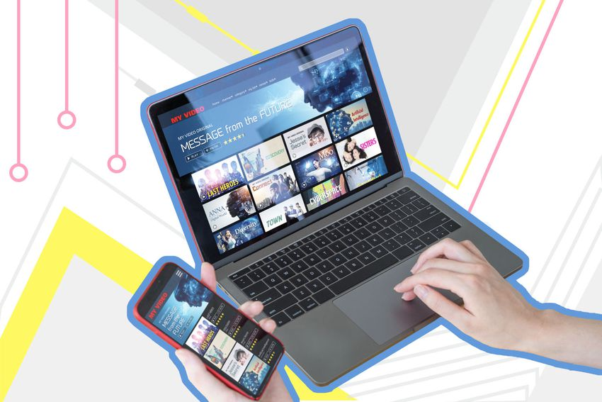 Streaming on computer and phone