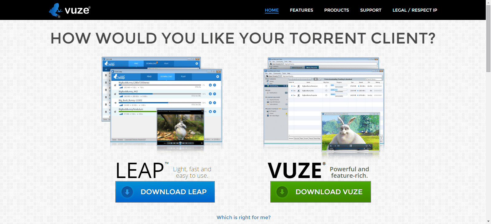 free legal bittorrent and file sharing resources