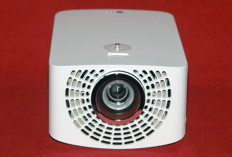 LG PF1500 Minibeam Pro Smart Video Projector - Front View