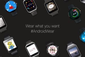Collection of Wear OS (formerly Android Wear) watches